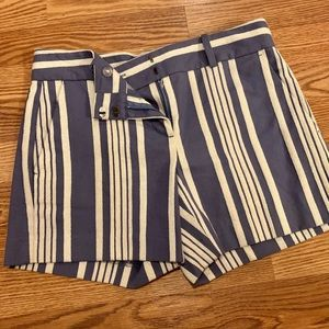 Ann Taylor Striped Shorts